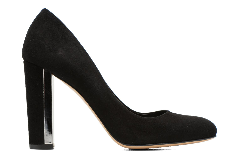 High heels Minelli F91 730/VEL Black back view