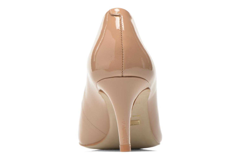 Zapatos de tacón Minelli F91 400/VER Beige vista lateral derecha