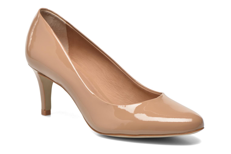 Zapatos de tacón Minelli F91 400/VER Beige vista de detalle / par