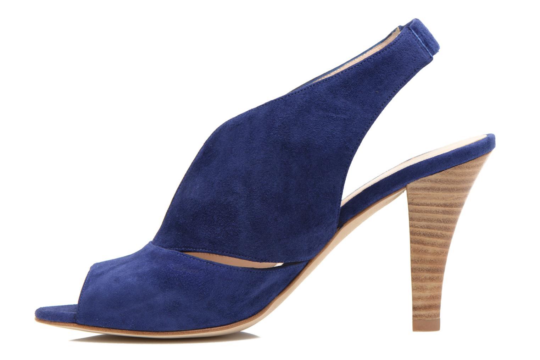 Sandalen Minelli F93 276/VEL blau ansicht von vorne