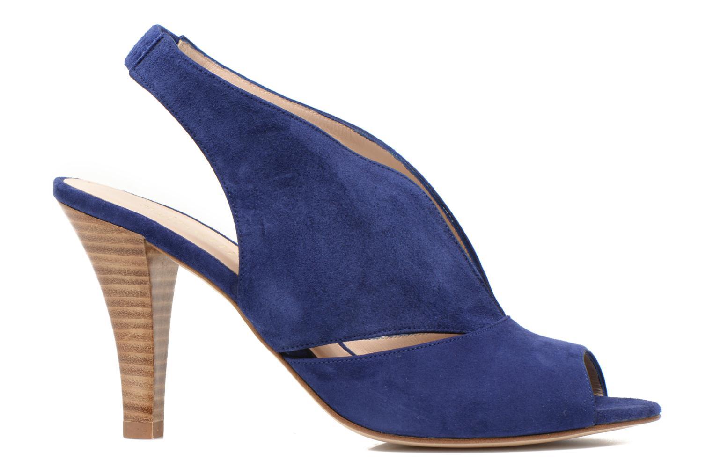 Sandalen Minelli F93 276/VEL blau ansicht von hinten