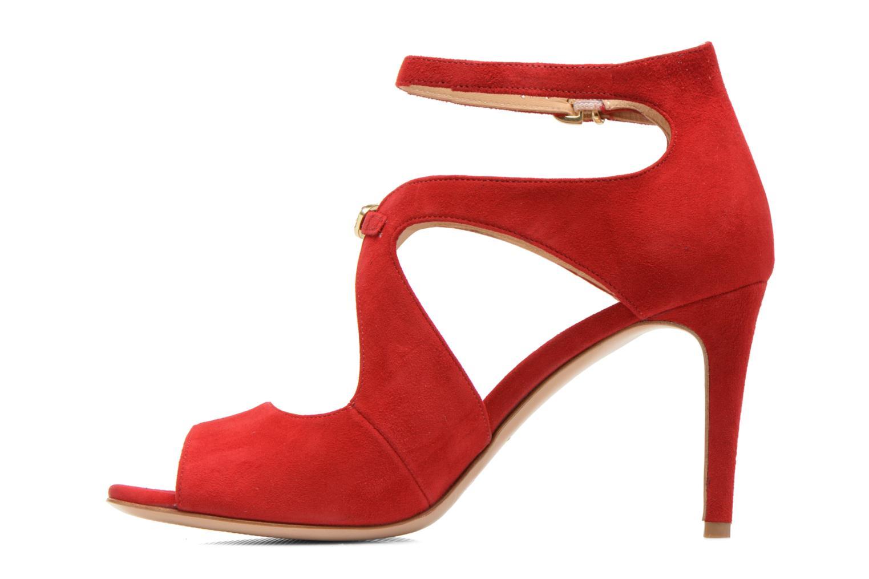 Sandales et nu-pieds Minelli F93 652/VEL Rouge vue face