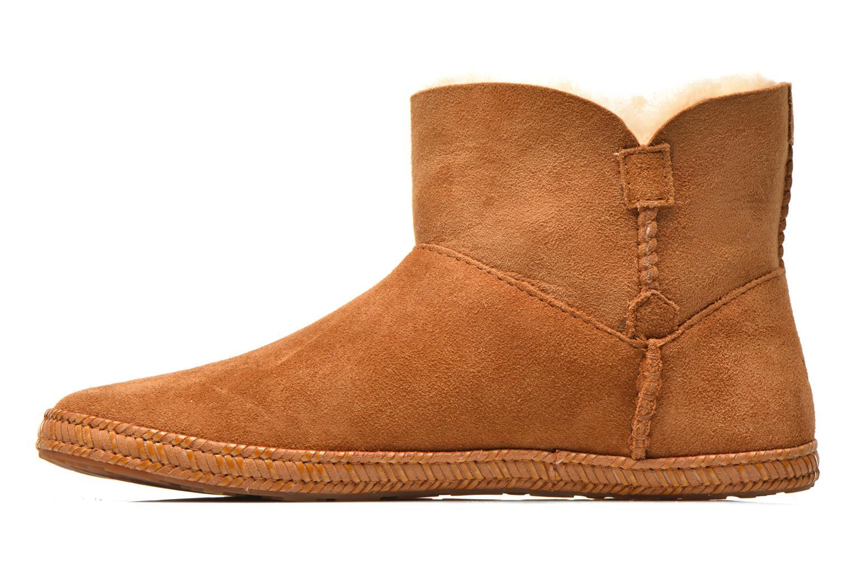 Stiefeletten & Boots UGG K Wyoming braun ansicht von vorne