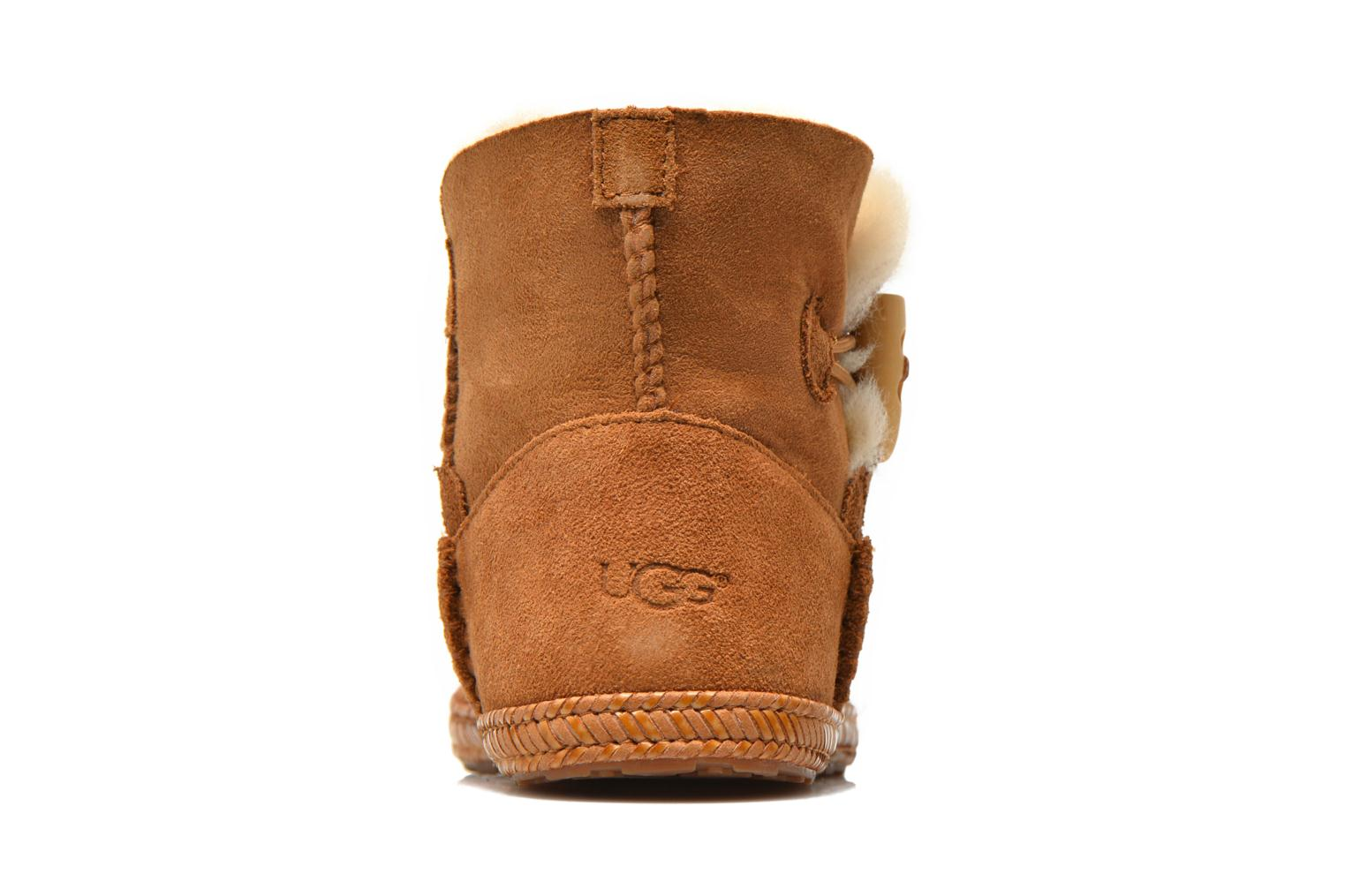 Ankle boots UGG K Wyoming Brown view from the right