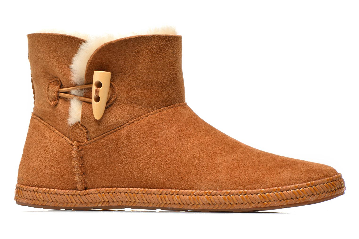 Ankle boots UGG K Wyoming Brown back view