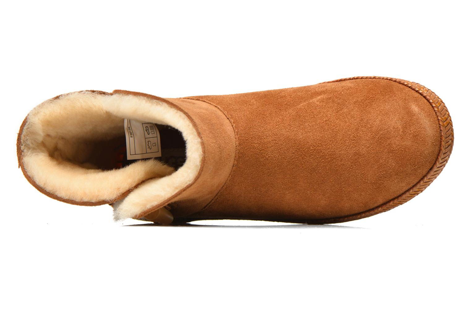 Ankle boots UGG K Wyoming Brown view from the left