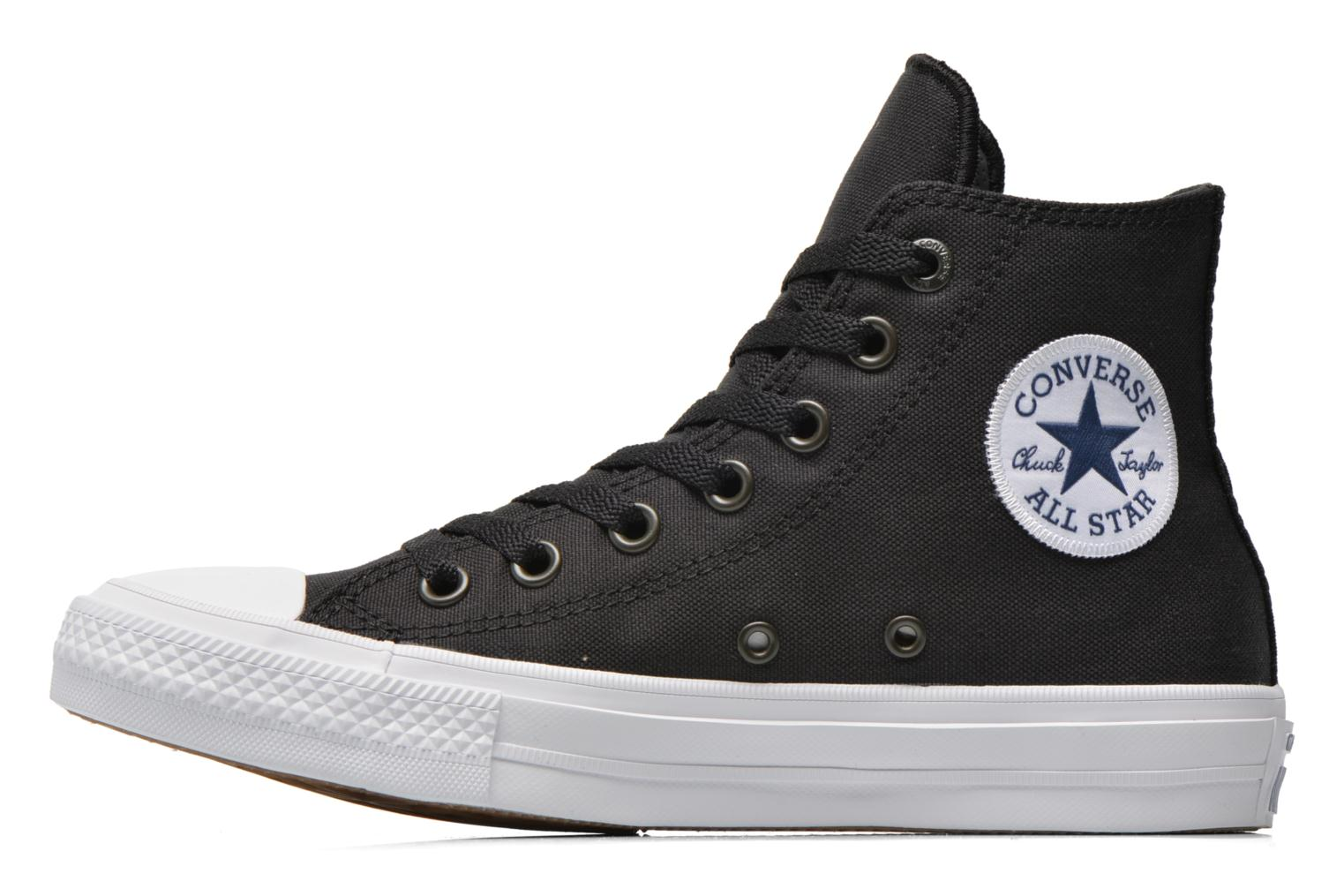 Chuck Taylor All Star II Hi W Black-White-Navy