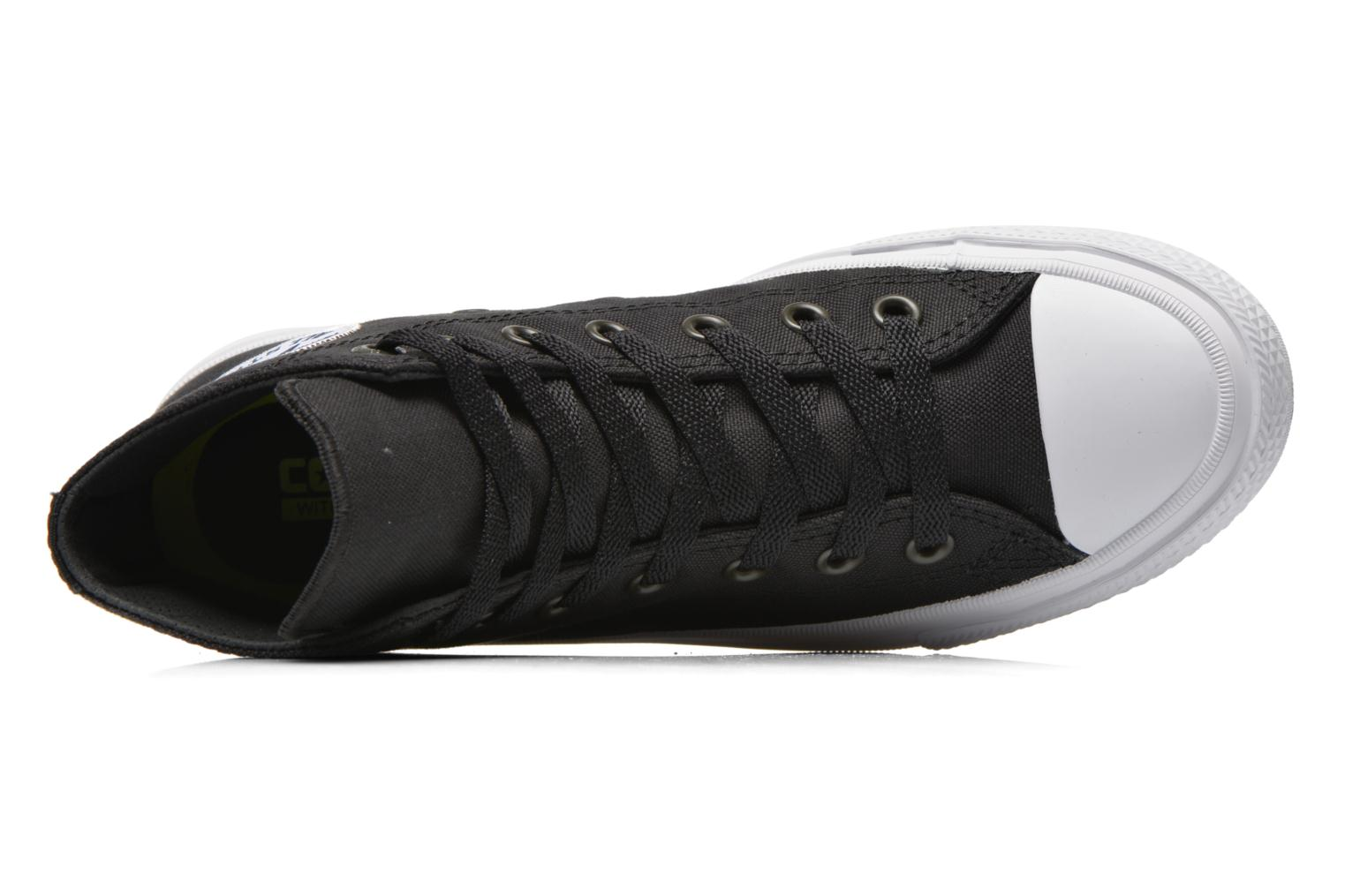 Trainers Converse Chuck Taylor All Star II Hi W Black view from the left