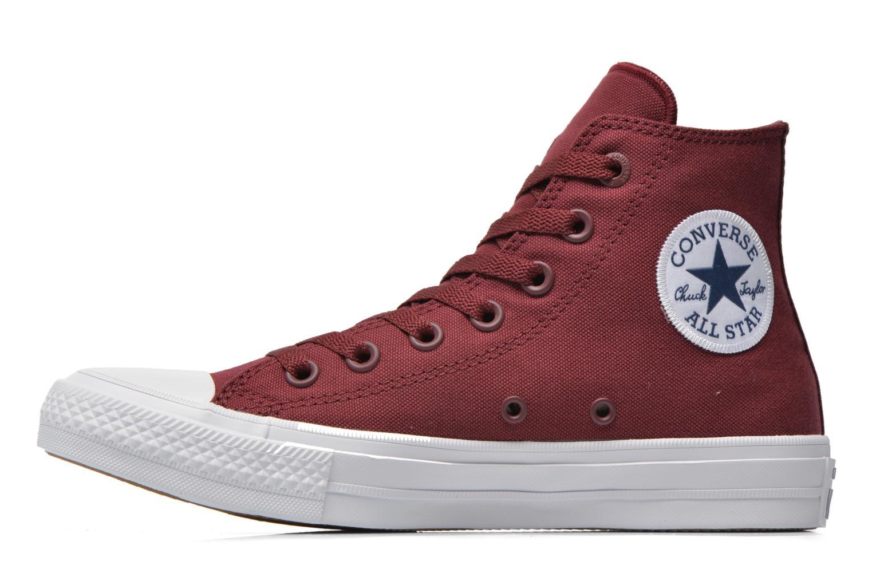 Sneakers Converse Chuck Taylor All Star II Hi W Bordeaux voorkant