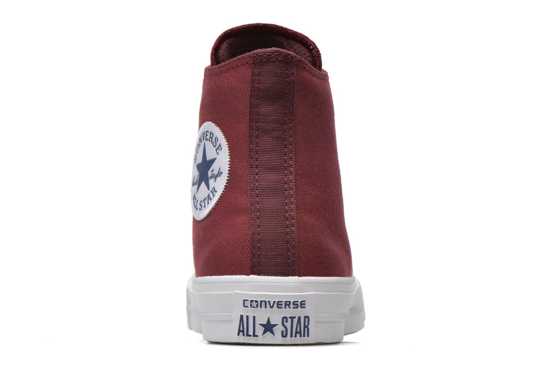 Sneakers Converse Chuck Taylor All Star II Hi W Vinröd Bild från höger sidan