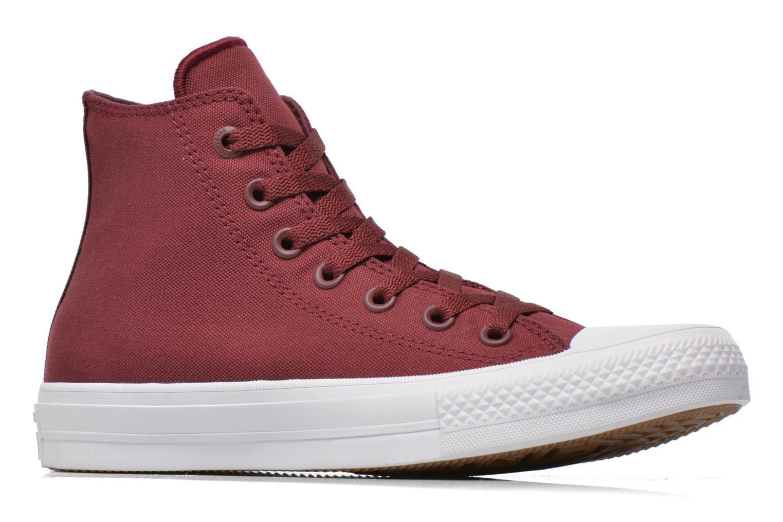 Sneakers Converse Chuck Taylor All Star II Hi W Vinröd bild från baksidan