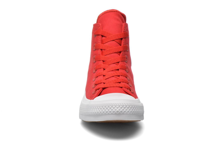 Baskets Converse Chuck Taylor All Star II Hi W Rouge vue portées chaussures