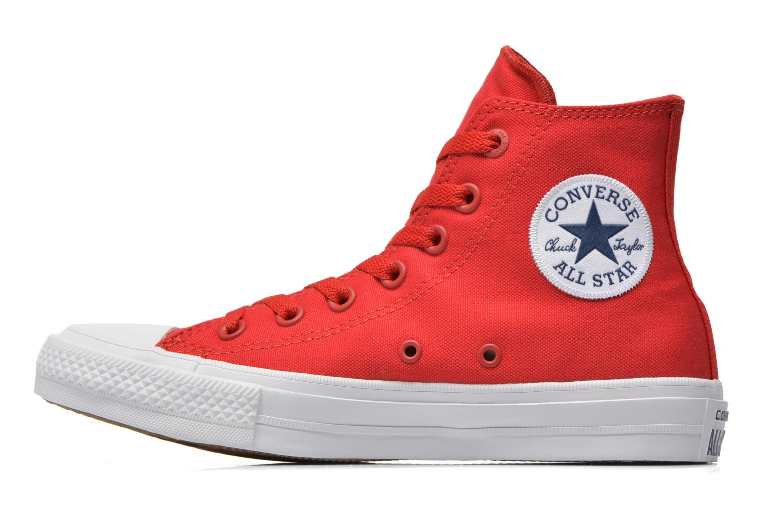 Sneakers Converse Chuck Taylor All Star II Hi W Rød se forfra