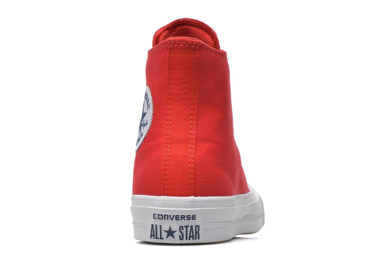 Sneakers Converse Chuck Taylor All Star II Hi W Röd Bild från höger sidan