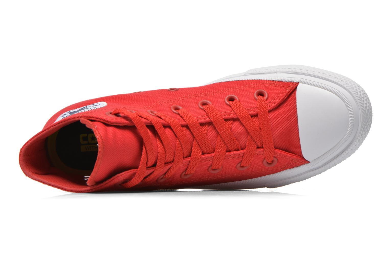 Sneakers Converse Chuck Taylor All Star II Hi W Röd bild från vänster sidan