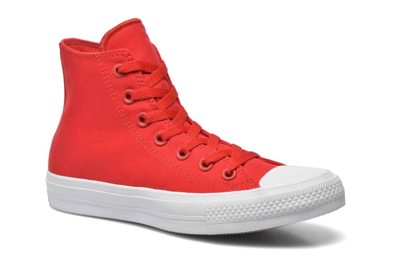 Sneakers Converse Chuck Taylor All Star II Hi W Röd detaljerad bild på paret