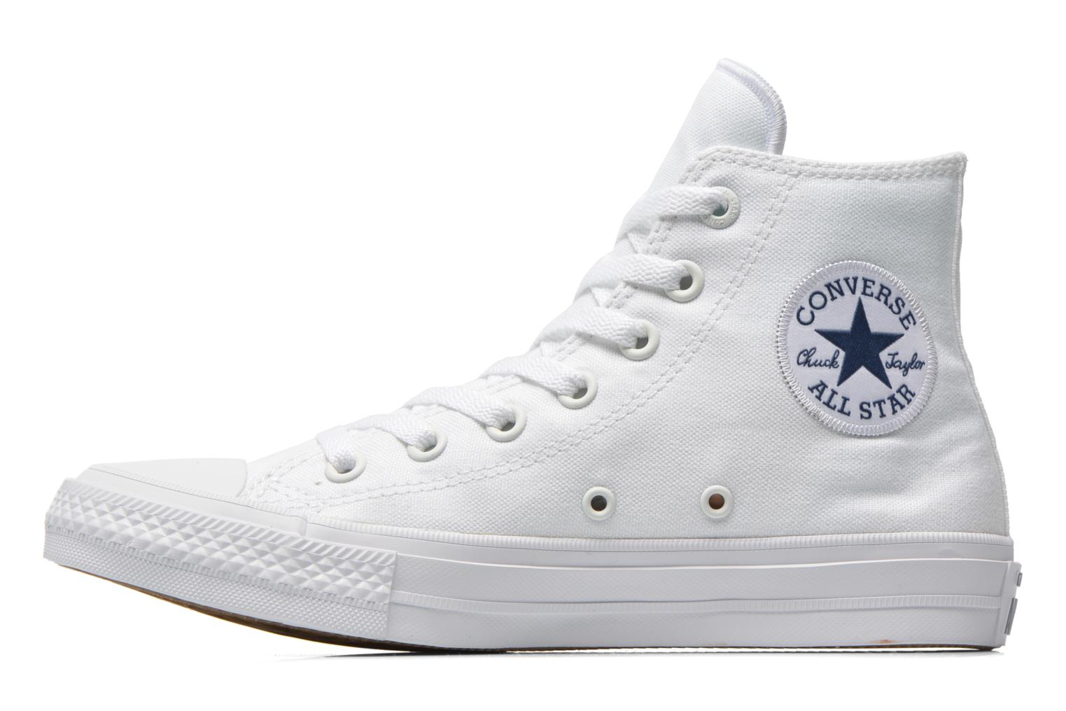 Sneakers Converse Chuck Taylor All Star II Hi W Hvid se forfra