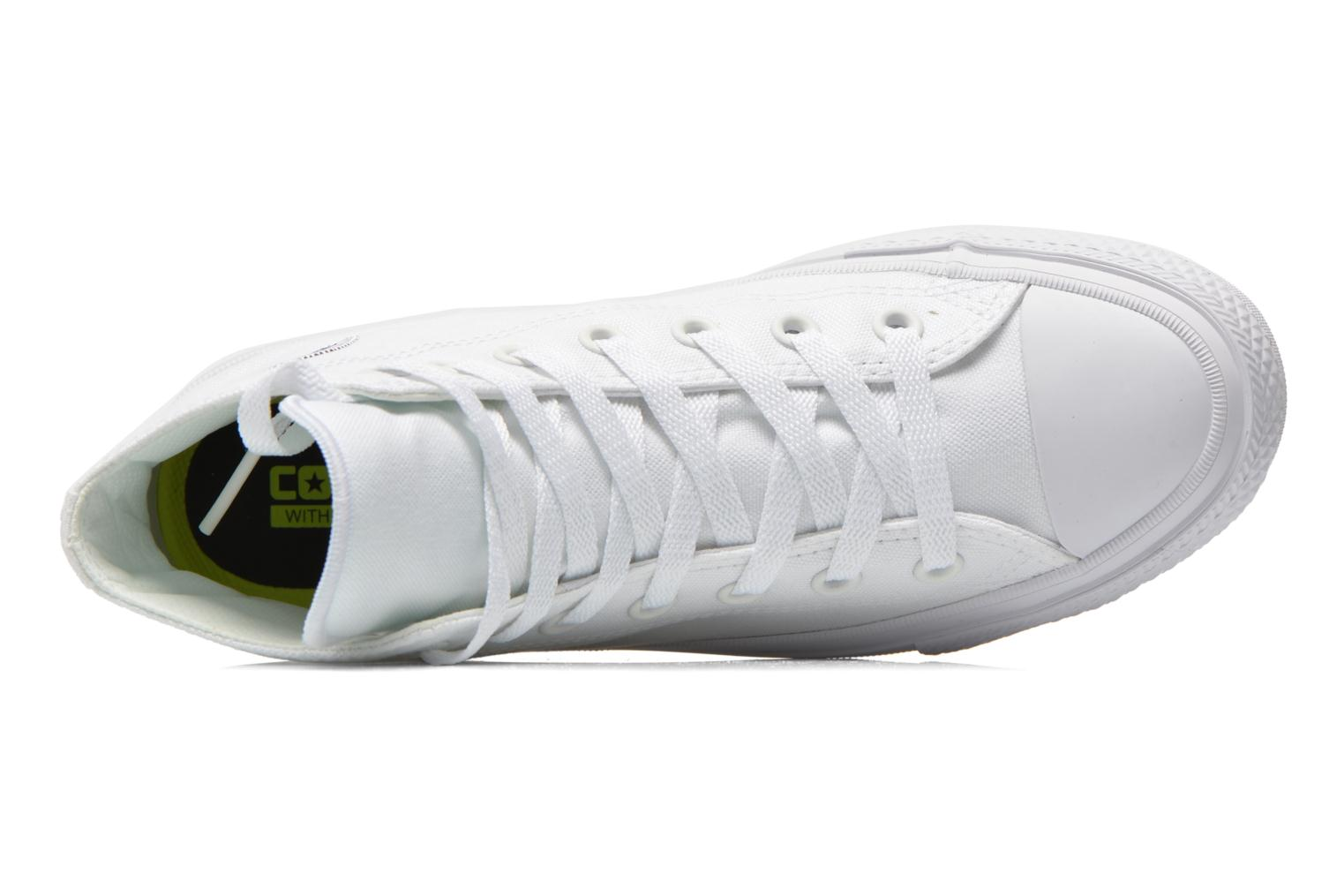 Trainers Converse Chuck Taylor All Star II Hi W White view from the left