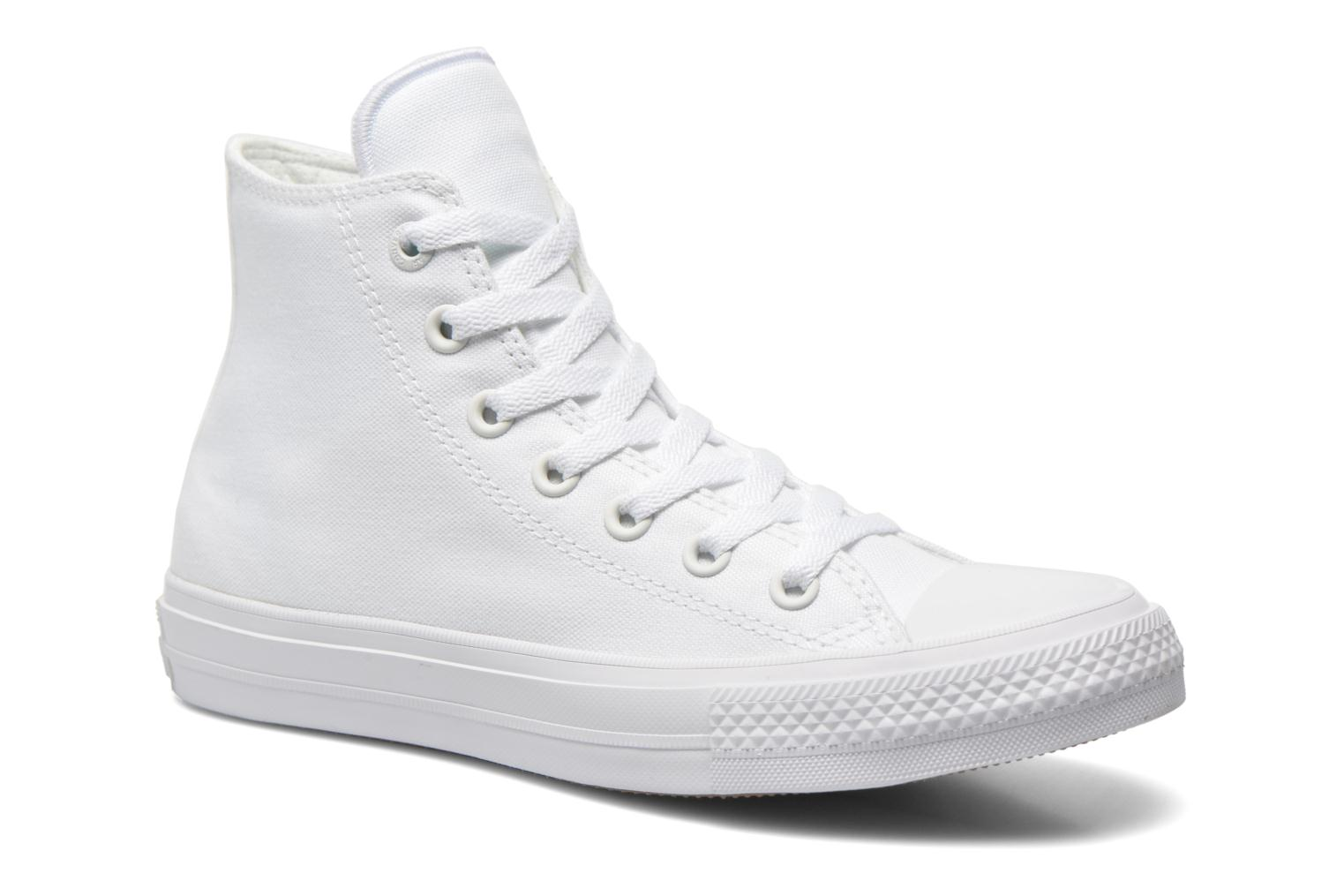 Trainers Converse Chuck Taylor All Star II Hi W White detailed view/ Pair view