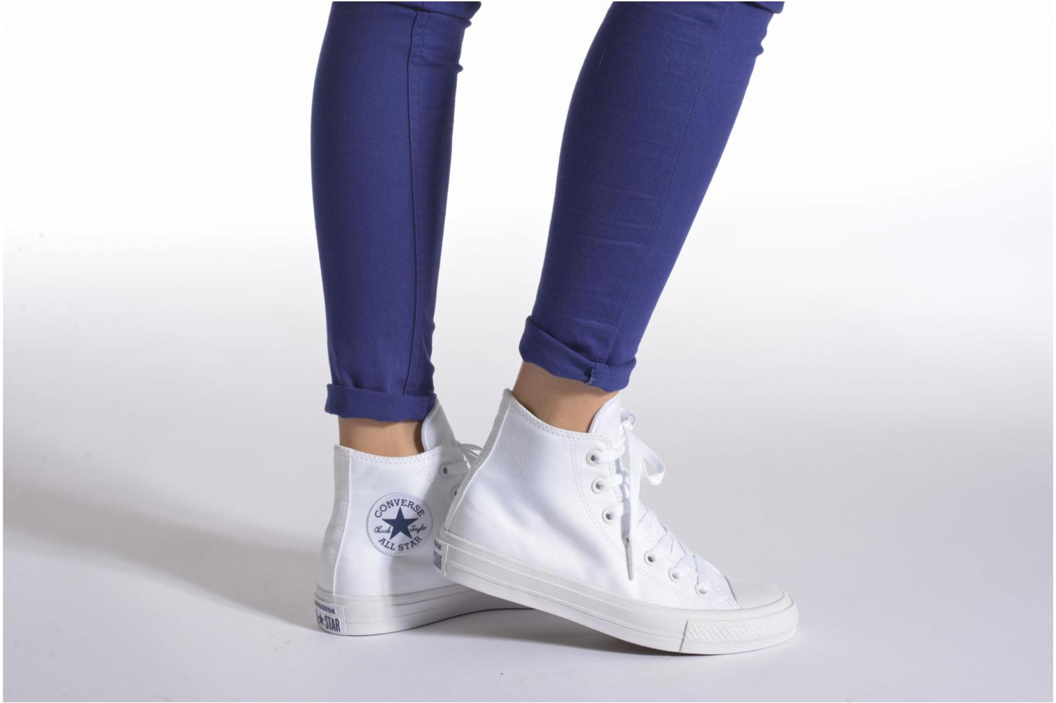 Chuck Taylor All Star II Hi W Parchment/Navy/White