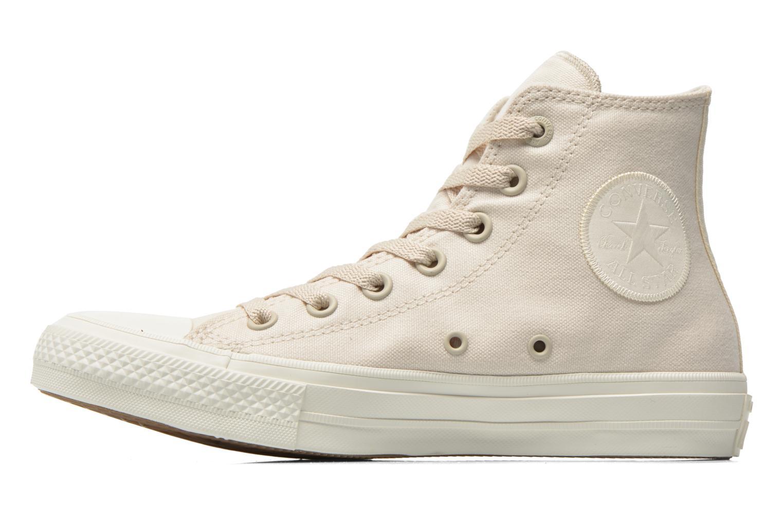 Sneaker Converse Chuck Taylor All Star II Hi W beige ansicht von vorne