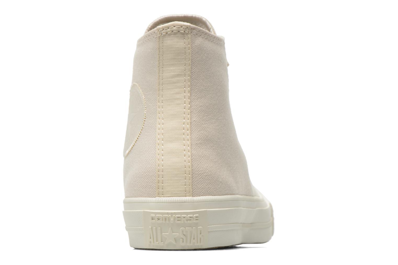 Sneaker Converse Chuck Taylor All Star II Hi W beige ansicht von rechts