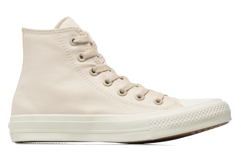 Sneaker Converse Chuck Taylor All Star II Hi W beige ansicht von hinten