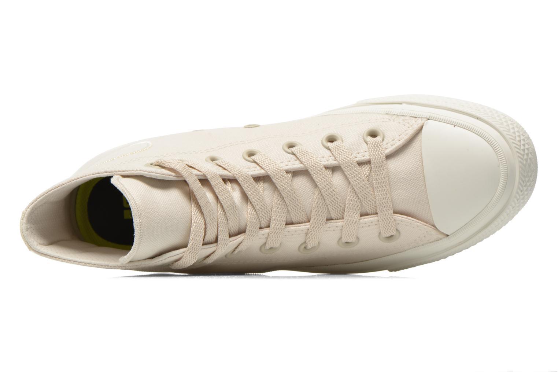 Sneaker Converse Chuck Taylor All Star II Hi W beige ansicht von links
