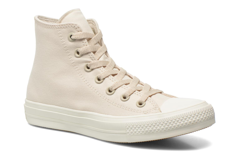 Sneakers Converse Chuck Taylor All Star II Hi W Beige detaljeret billede af skoene