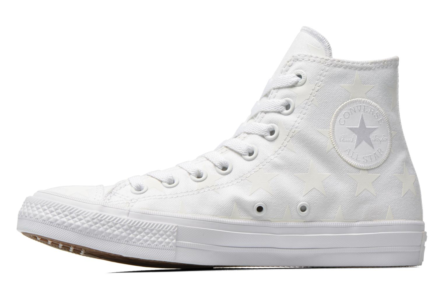 Sneakers Converse Chuck Taylor All Star II Hi M Hvid se forfra