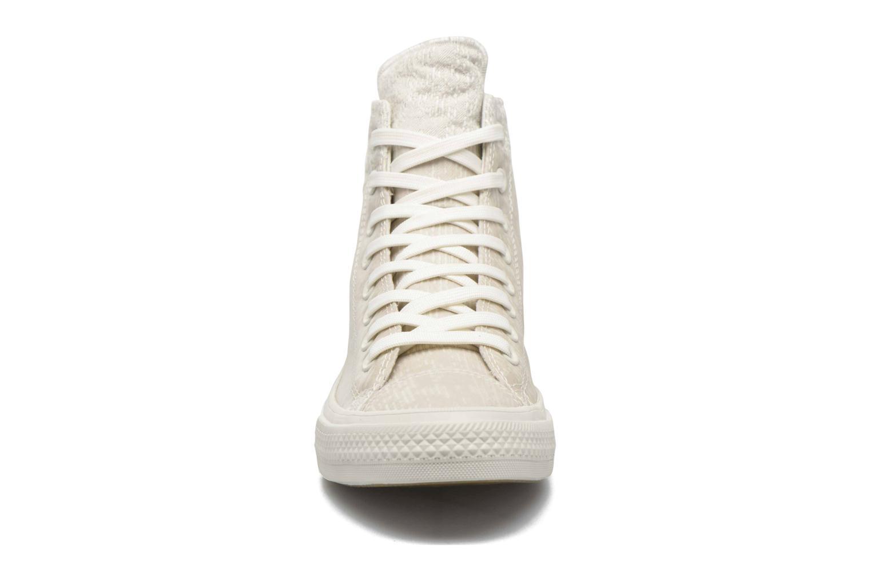 Baskets Converse Chuck Taylor All Star II Hi M Gris vue portées chaussures