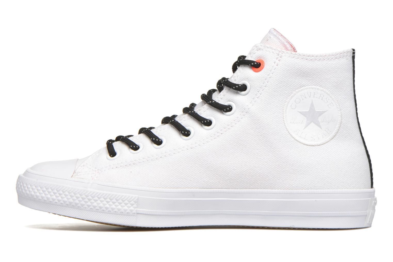 Sneaker Converse Chuck Taylor All Star II Hi M weiß ansicht von vorne