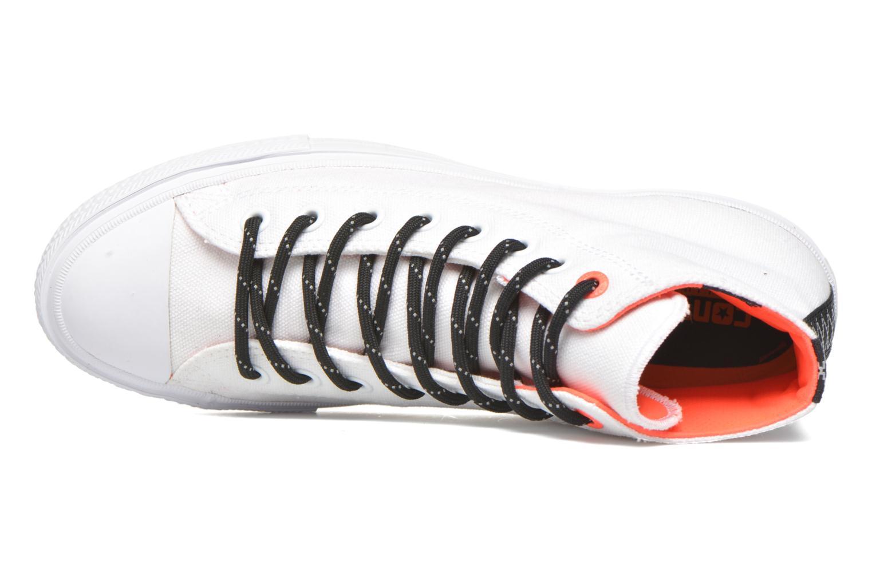 Sneaker Converse Chuck Taylor All Star II Hi M weiß ansicht von links