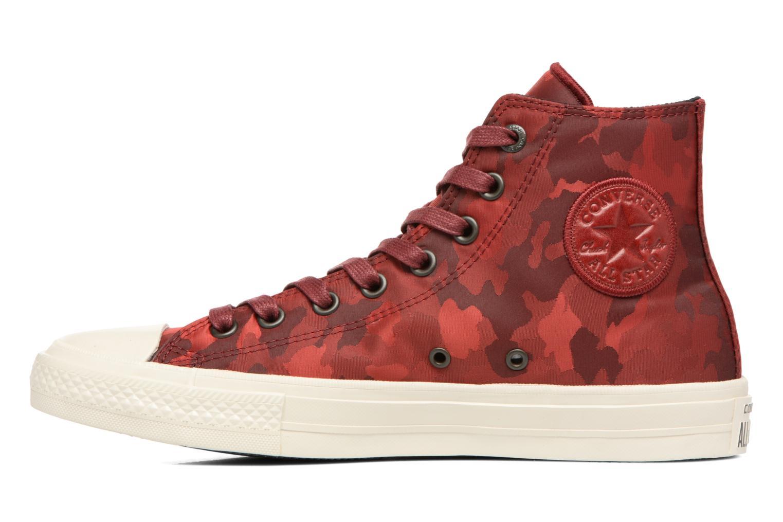 Sneakers Converse Chuck Taylor All Star II Hi M Vinröd bild från framsidan