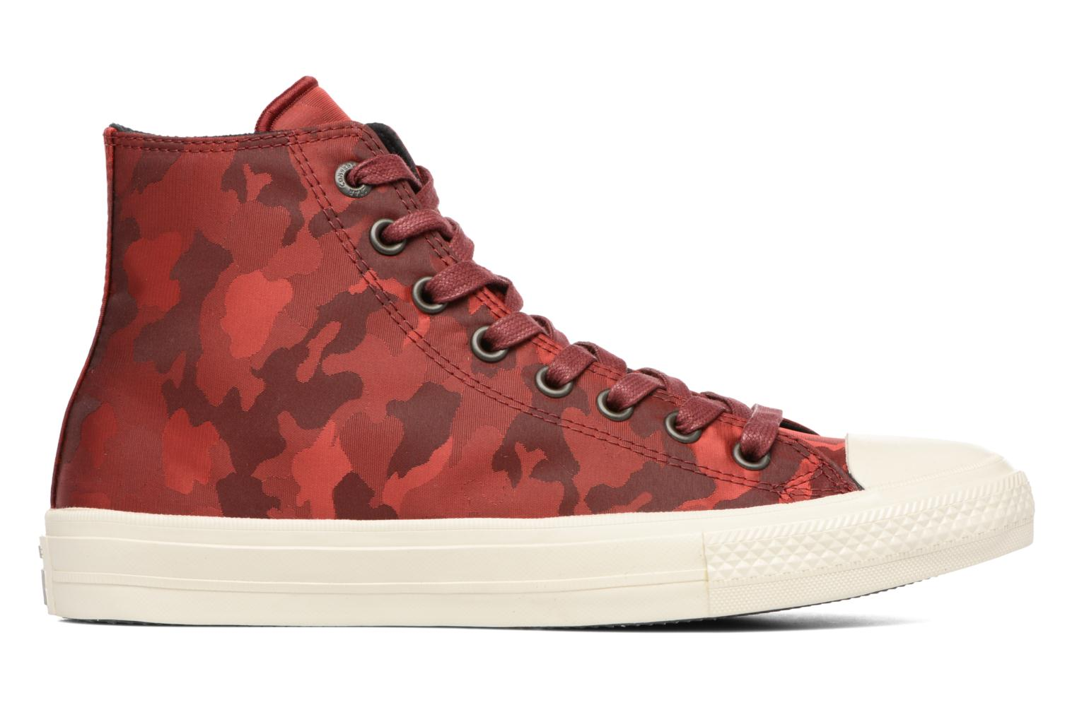 Baskets Converse Chuck Taylor All Star II Hi M Bordeaux vue derrière