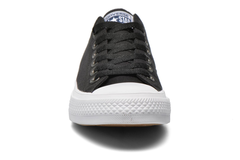 Sneaker Converse Chuck Taylor All Star II Ox W schwarz schuhe getragen