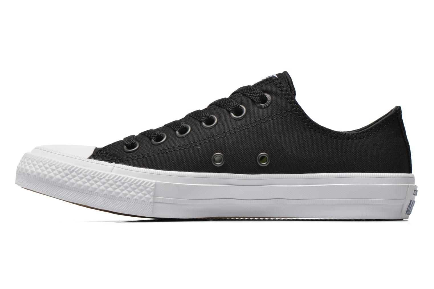 Sneakers Converse Chuck Taylor All Star II Ox W Zwart voorkant