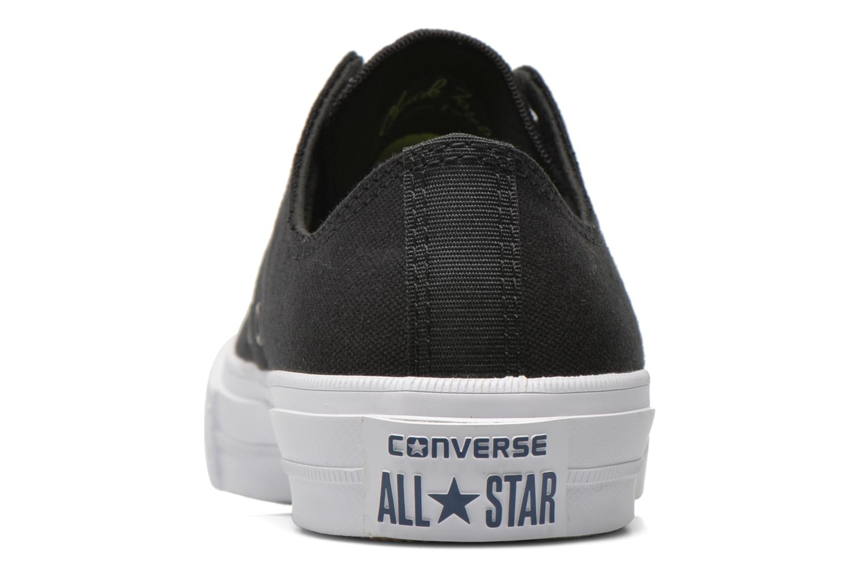 Sneaker Converse Chuck Taylor All Star II Ox W schwarz ansicht von rechts