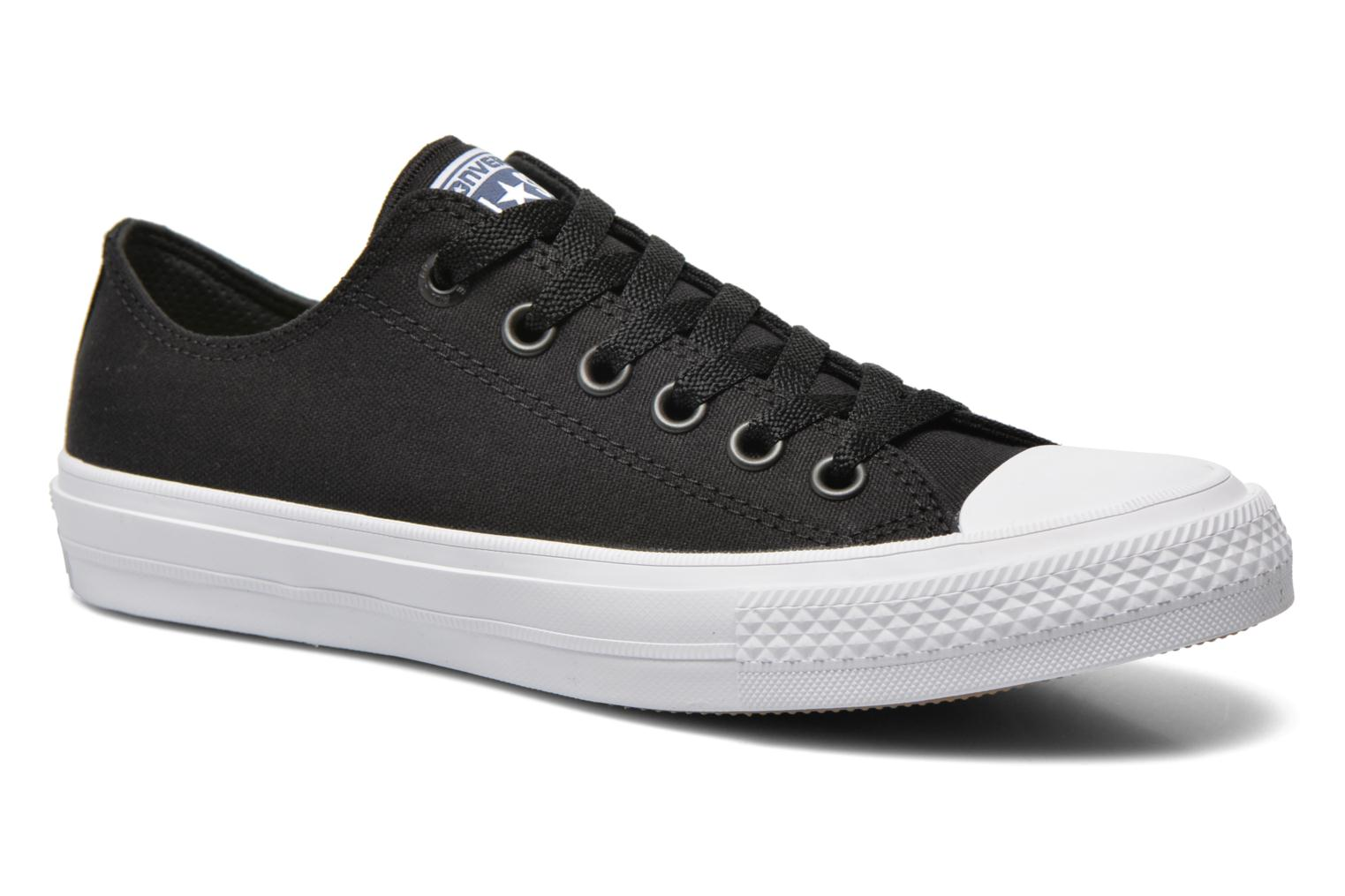Chuck Taylor All Star II Ox W Black-White-Navy
