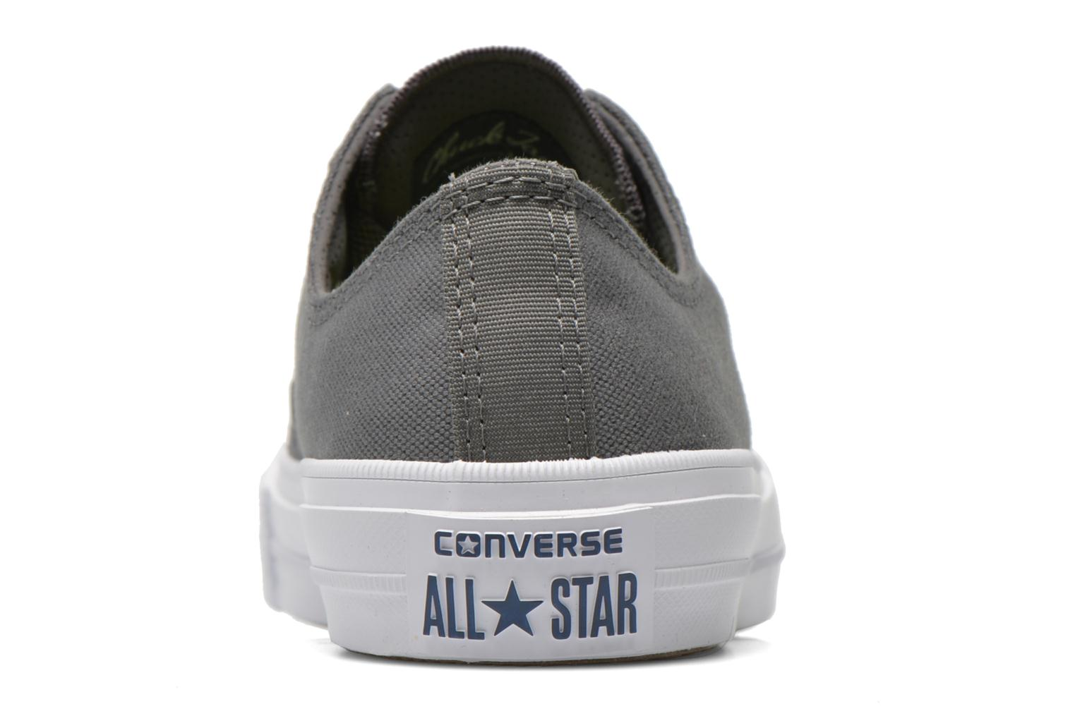 Baskets Converse Chuck Taylor All Star II Ox W Gris vue droite