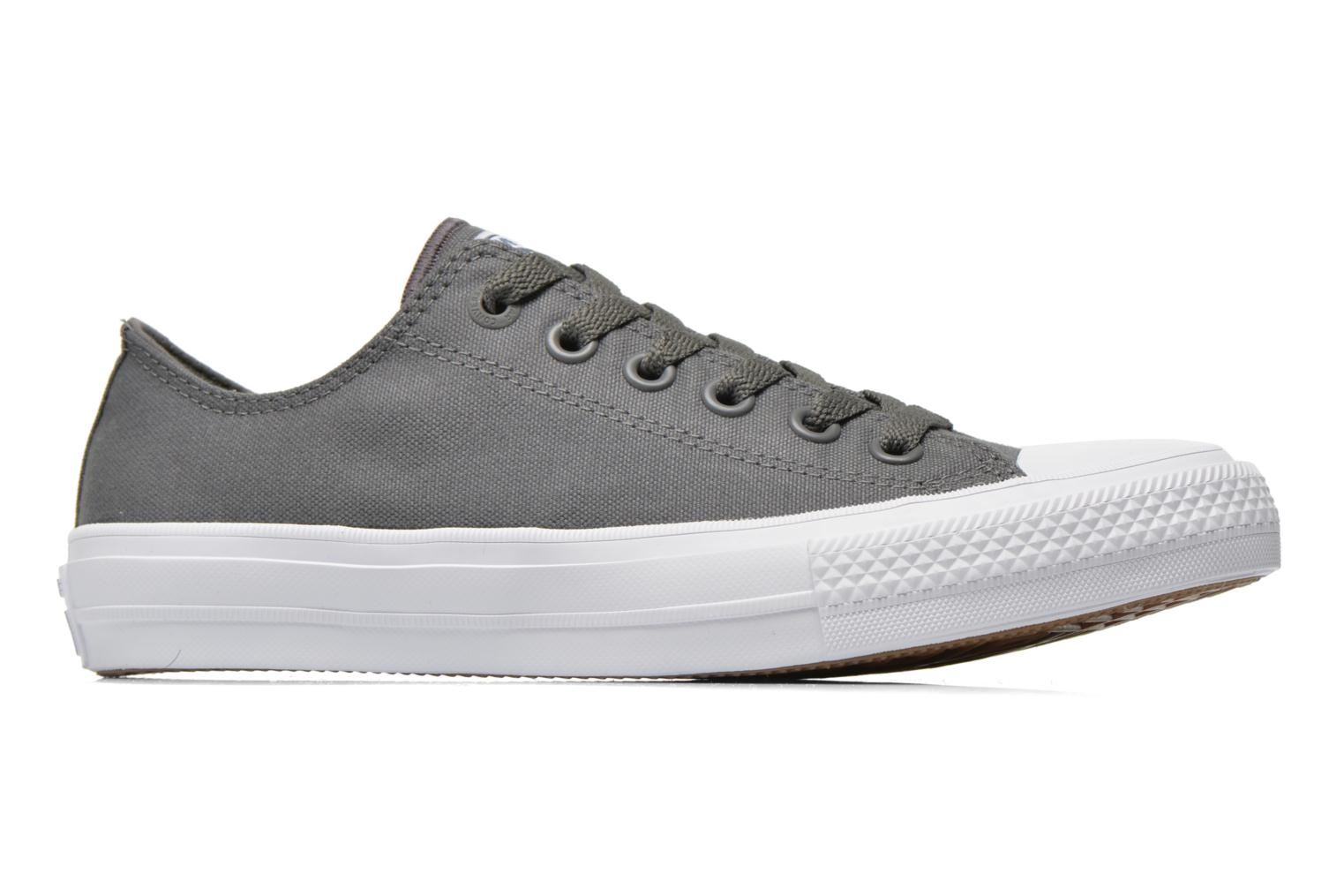 Trainers Converse Chuck Taylor All Star II Ox W Grey back view