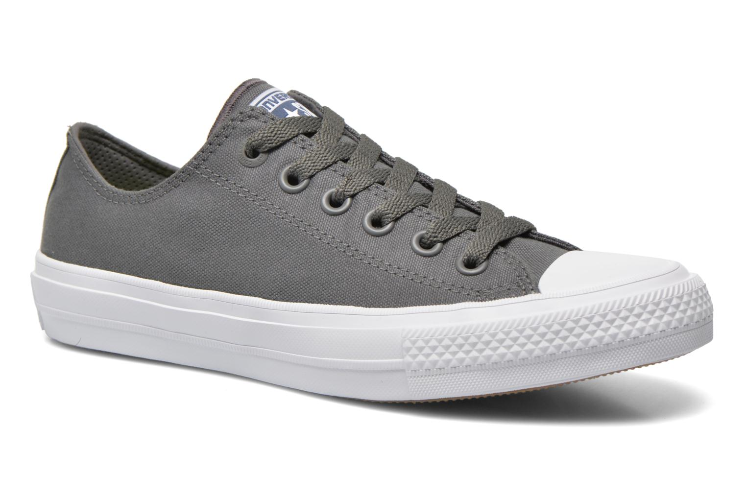 Trainers Converse Chuck Taylor All Star II Ox W Grey detailed view/ Pair view