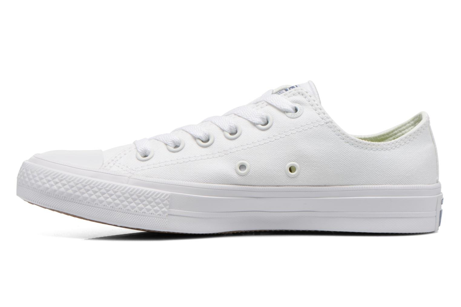 Baskets Converse Chuck Taylor All Star II Ox W Blanc vue face