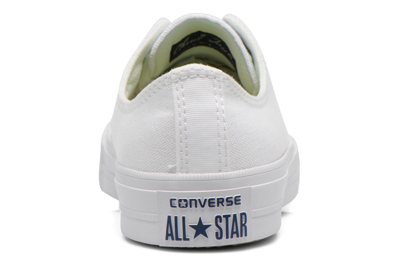 Deportivas Converse Chuck Taylor All Star II Ox W Blanco vista lateral derecha