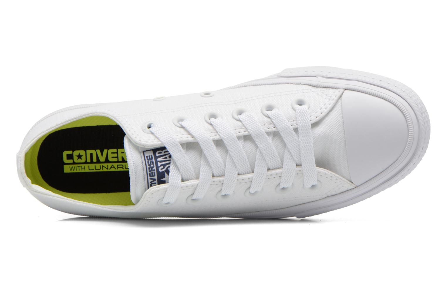 Trainers Converse Chuck Taylor All Star II Ox W White view from the left