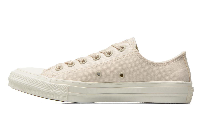 Sneaker Converse Chuck Taylor All Star II Ox W beige ansicht von vorne