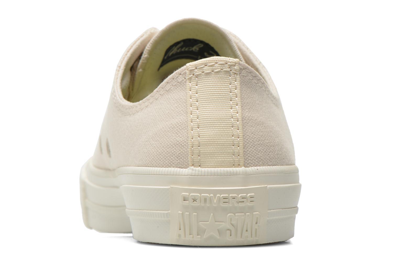 Sneaker Converse Chuck Taylor All Star II Ox W beige ansicht von rechts