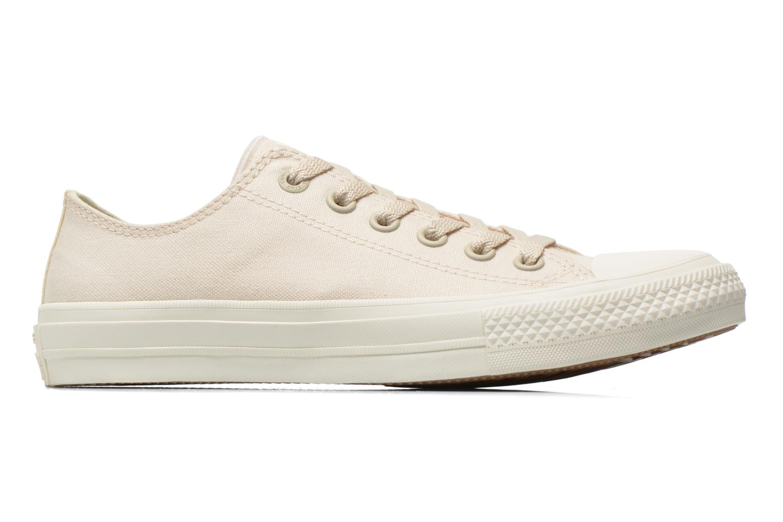 Sneaker Converse Chuck Taylor All Star II Ox W beige ansicht von hinten