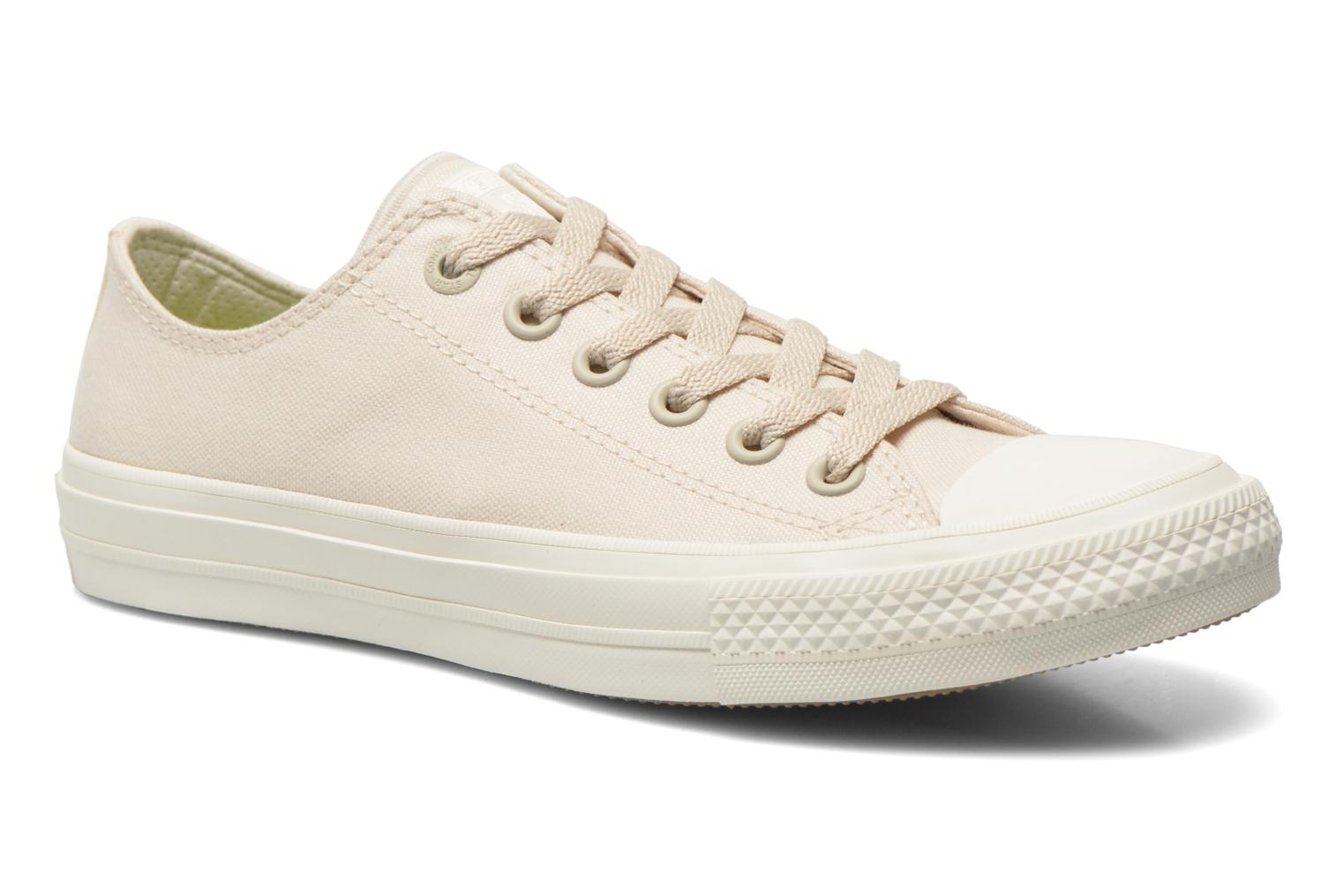 Trainers Converse Chuck Taylor All Star II Ox W Beige detailed view/ Pair view