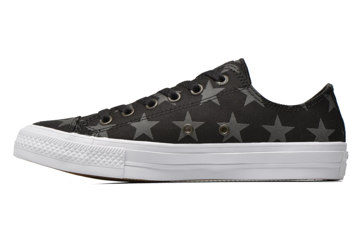 Sneakers Converse Chuck Taylor All Star II Ox M Zwart voorkant